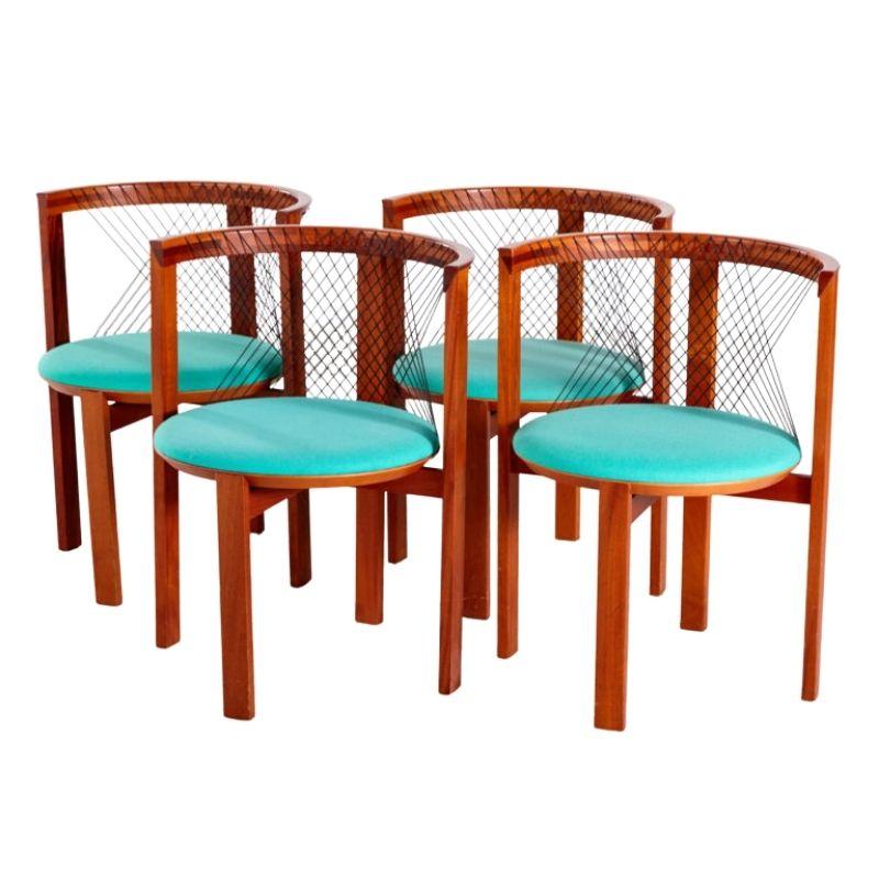 String dining chairs by Niels Jorgen Haugesen for Tranekaer, set of 4
