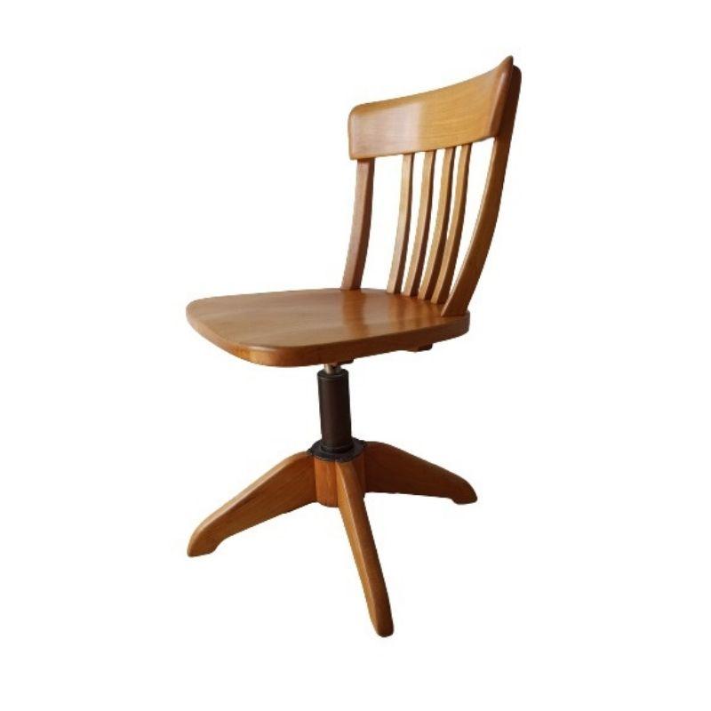 Vintage office chair by Albert Stoll Switzerland 1950s.