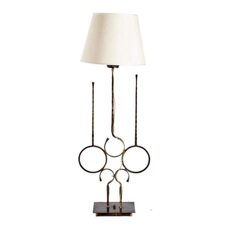 Italian wrought-iron floor lamp