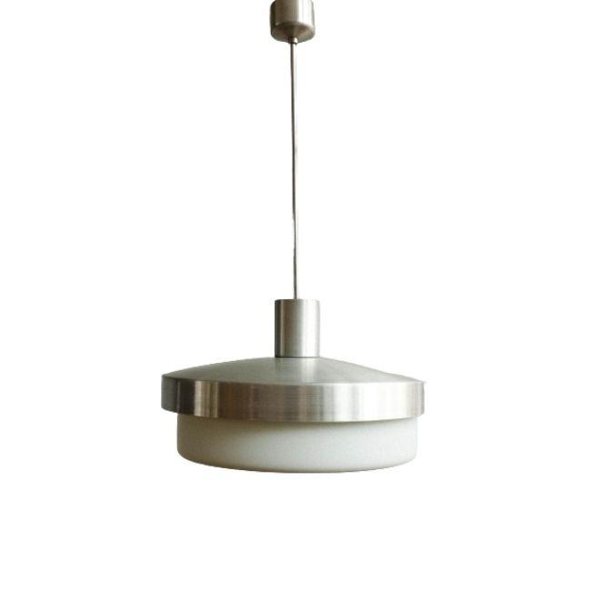 Vintage Czechoslovak Hanging Lamp, 1950s