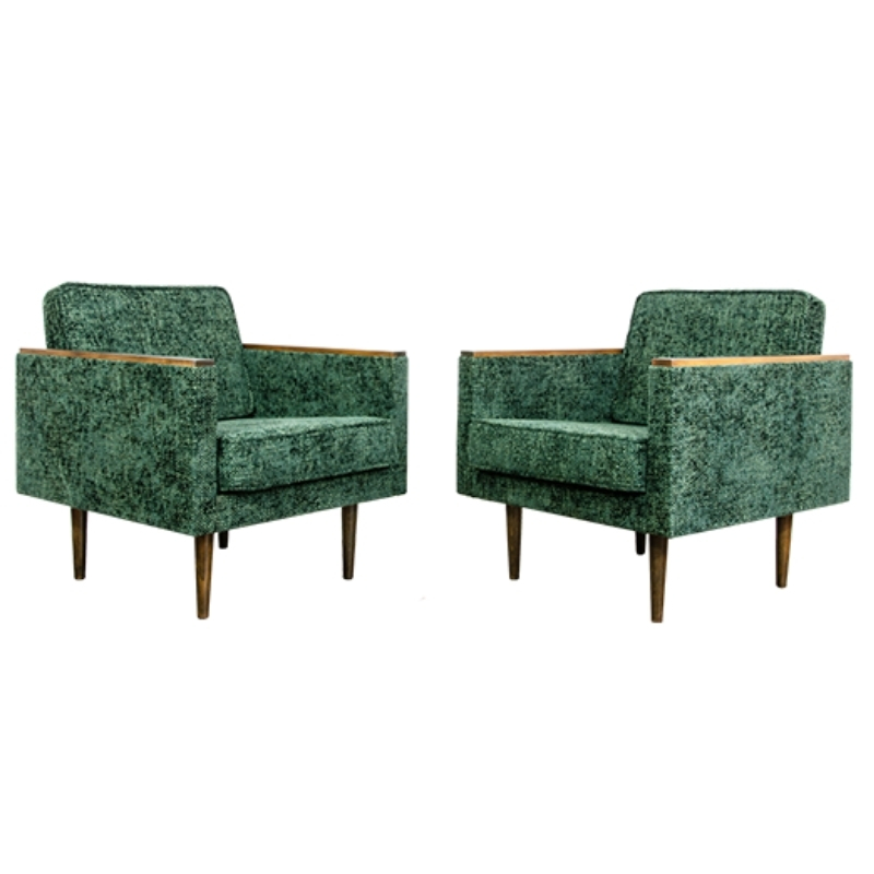 Pair of model ZWP-8 armchairs, 1970sPair of model ZWP-8 armchairs, 1970s