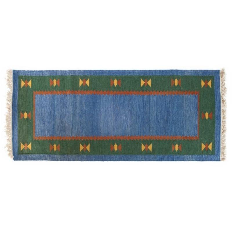 Scandinavian 20th century modern rug. 190 cm X 82 cm (6.23 ft X 2.69 ft).