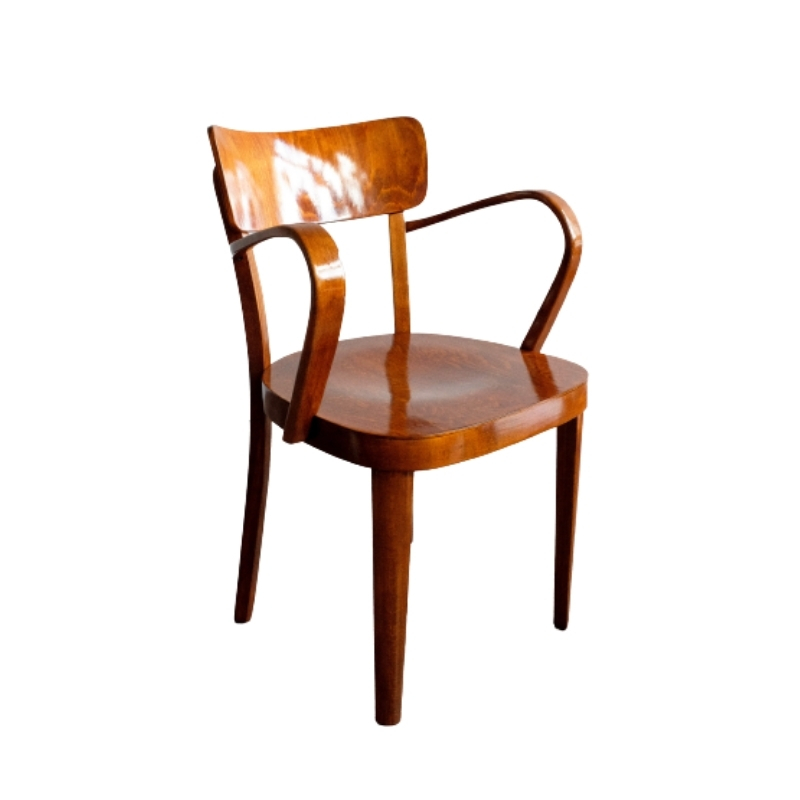 Vintage Czechoslovak Wooden Chair by Tatra Nábytok, 1960s