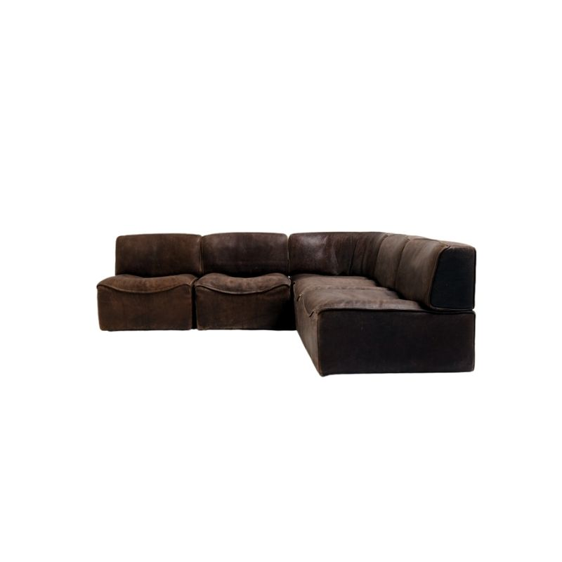 Vintage model DS-15 De Sede sofa