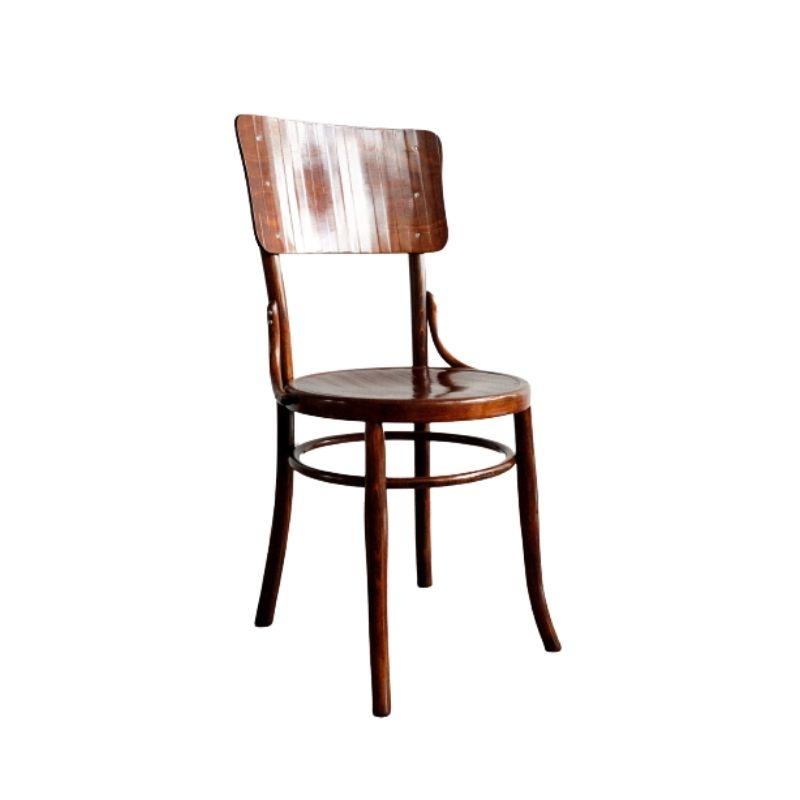 Thonet Wooden Chair made by Möbel- und Fournier fabrik, 1900s