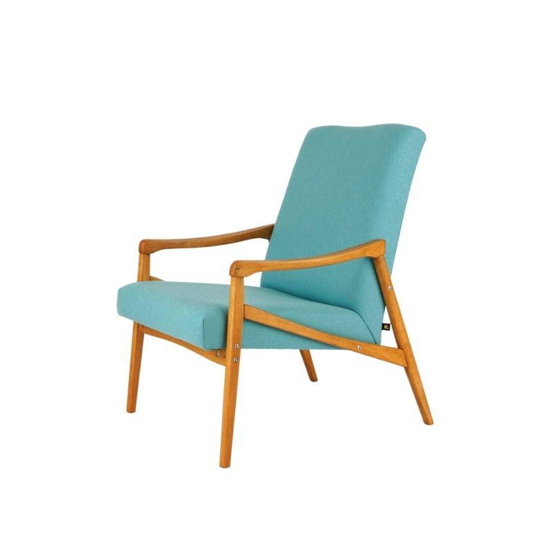 Lounge chair, mid century modern, 60s vintage, Jiri Jiroutek, Czechoslovakia, retro design, modern decor