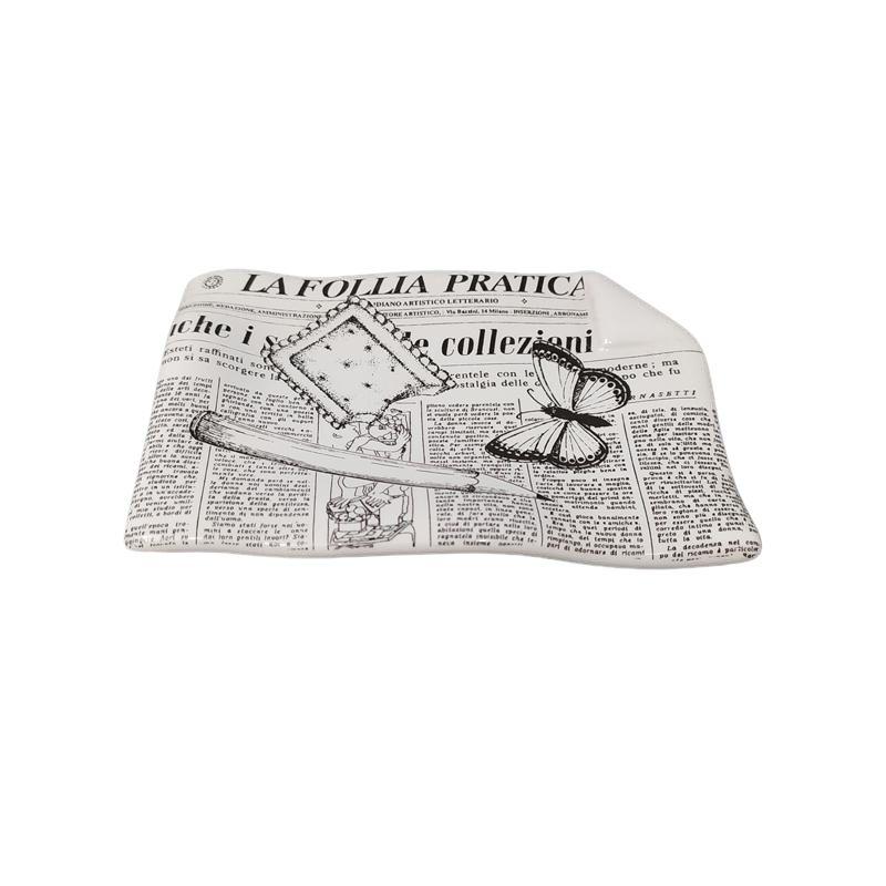 1950s Fornasetti Ceramic Catchall designed by Piero Fornasetti