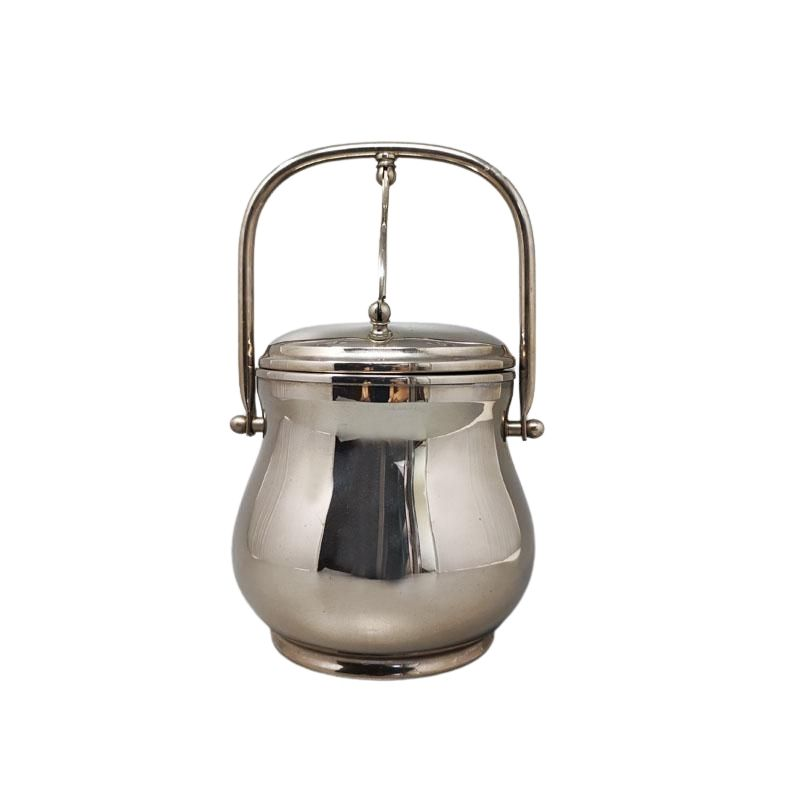 1960s Stunning Ice Bucket by Aldo Tura for Macabo. Made in Italy.