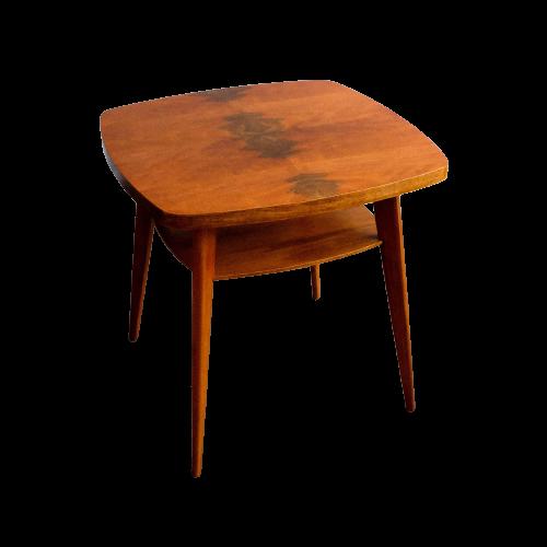 Mid-Century Czechoslovak Walnut Coffee Table, 1960s
