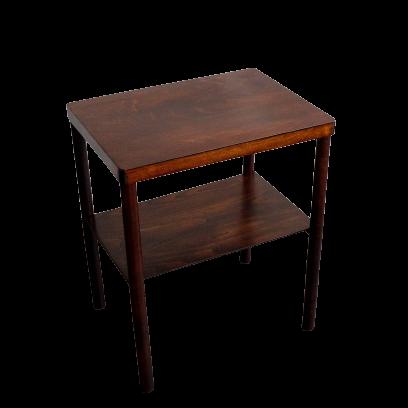 Art Deco Czechoslovak Wooden Side Table, 1920s