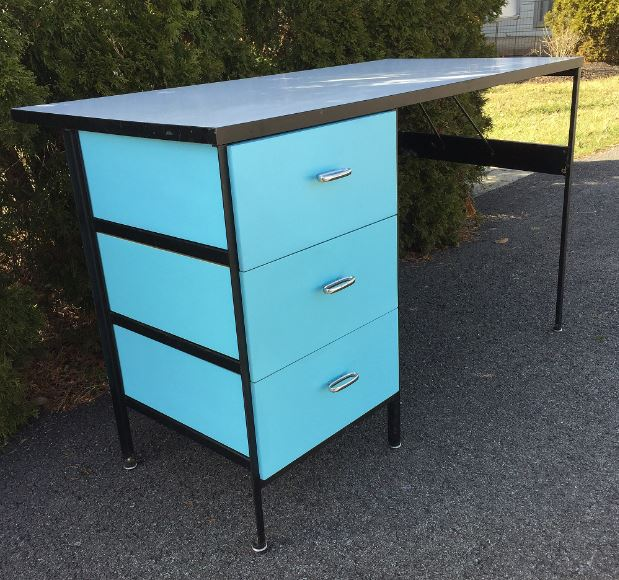 Astonishing George Nelson Steel Frame Desk Colors Question General Home Remodeling Inspirations Basidirectenergyitoicom